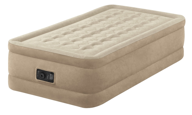 Intex ULTRA PLUSH Luftbett 64456 Dura-Beam mit elektrischer Pumpe - 1