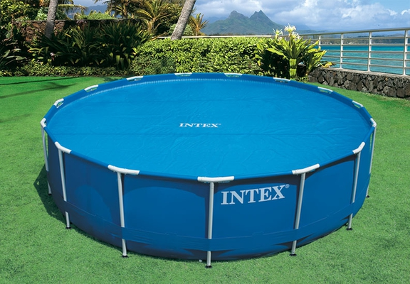 Intex 29020 Solarabdeckplane Ø 244 cm für Easy Set und Frame Pools  - 5