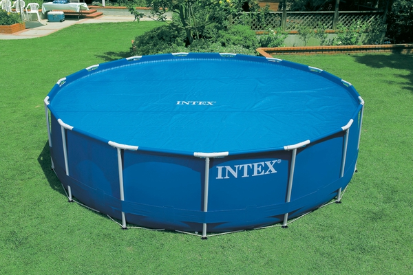 Intex 29023 Solarabdeckplane Ø 457 cm für Easy Set und Frame Pools  - 4