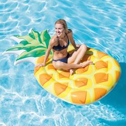 INTEX 58761 Luftmatratze Badeinsel Ananas Lounge Pineapple 216x124 cm Badeinsel