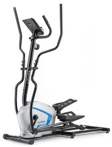 Elitum Crosstrainer MX500 Nordic Walking Ellipsentrainer Silber