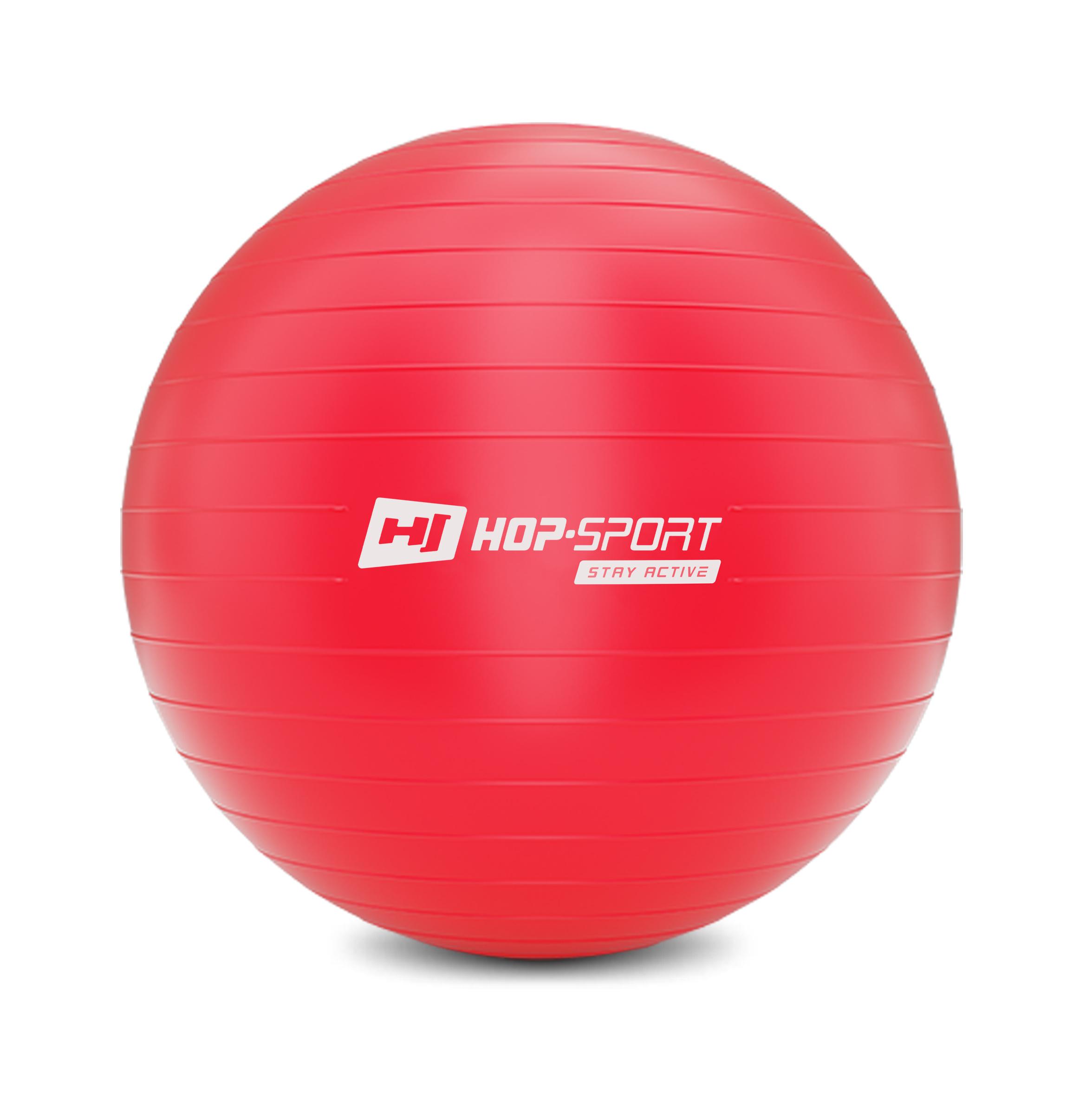 und Fitnessball in blau Gymnastik 65 cm belastbar bis 100 kg