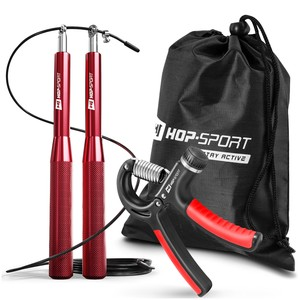 Fitness-Set Springseil + Fingerhantel