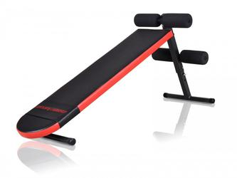 MARBO SPORT Sit up Bank MH-L101 Schrägbank Trainingsbank Hantelbank Bauchtrainer