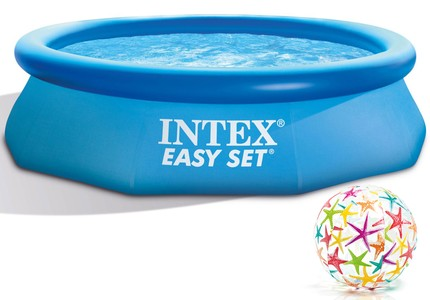 INTEX Easy Set Swimming Pool 305x76 cm Schwimmbecken Quick-Up Schwimmbad 28120
