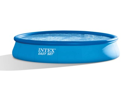 INTEX Easy Set Swimming Pool 396x84 cm Schwimmbecken Quick-Up Schwimmbad 28142