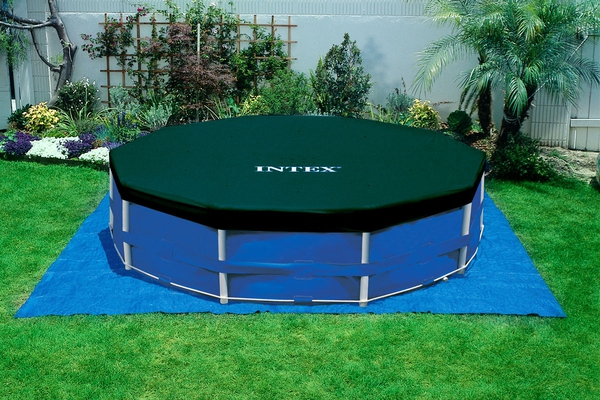 Swimming Pool 28234 Intex Metal Frame 457 x 107 cm mit Pumpe  - 6