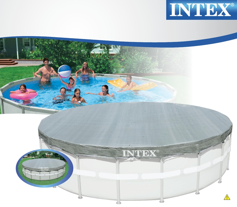 NTEX Ultra Frame Swimming Pool 488x122 cm Schwimmbecken Stahlrahmen ...