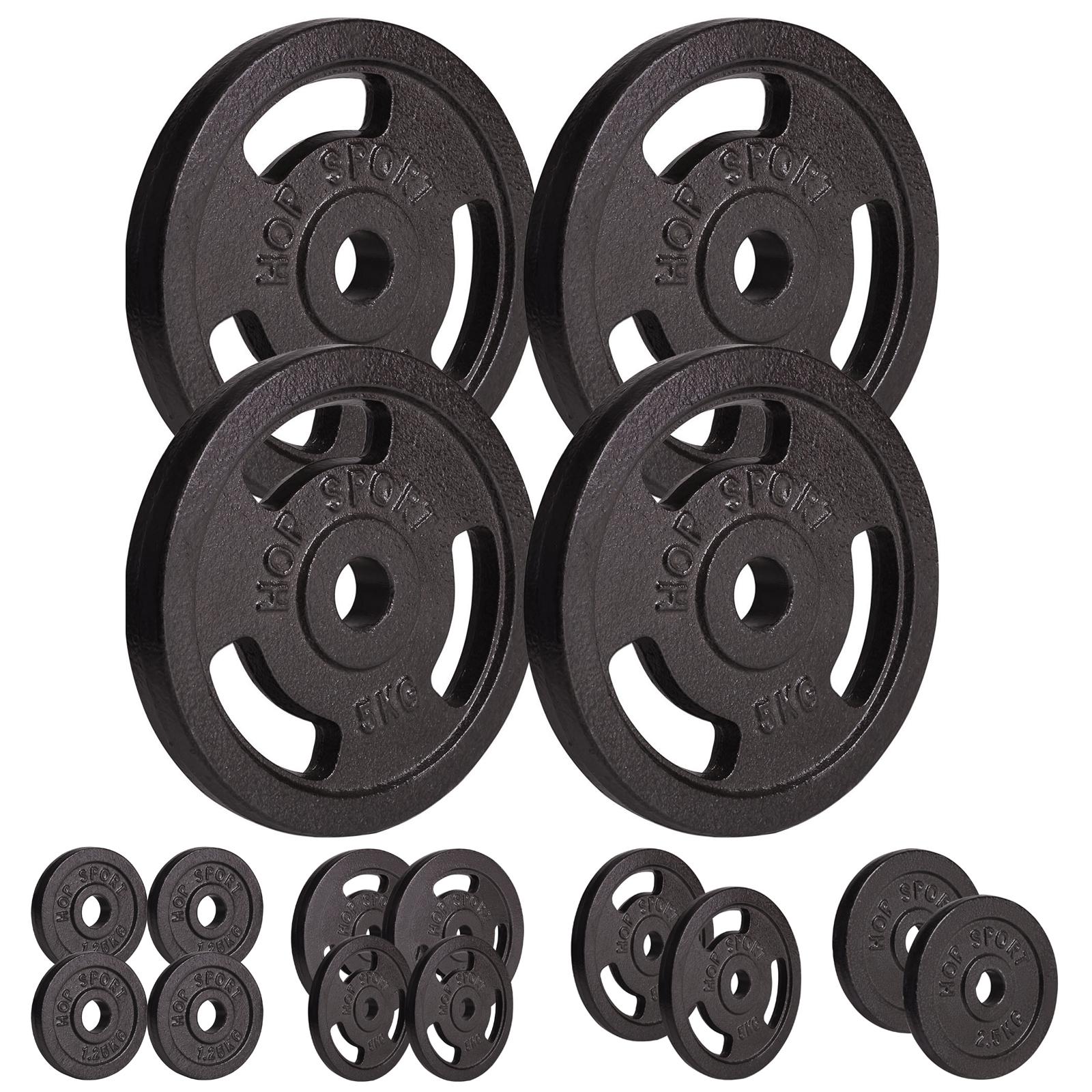 Hantelscheiben 30kg Gusseisen Scheiben 30mm Gewichtsscheiben Gewichte Hantel