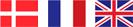 Dänemark, Frankreich, Großbritanien - Lieferzeit: 2-3 Werktage